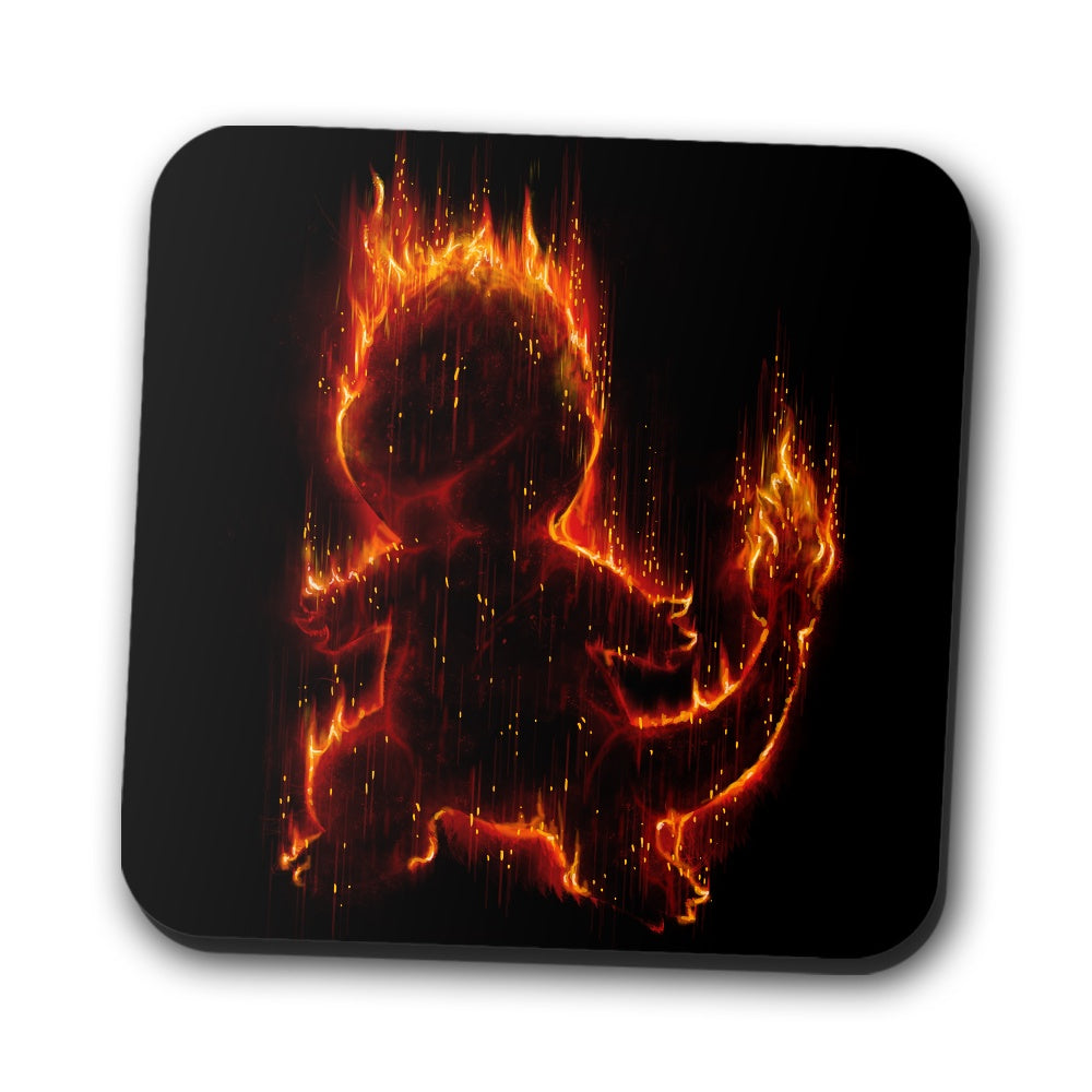 Fire Type - Coasters