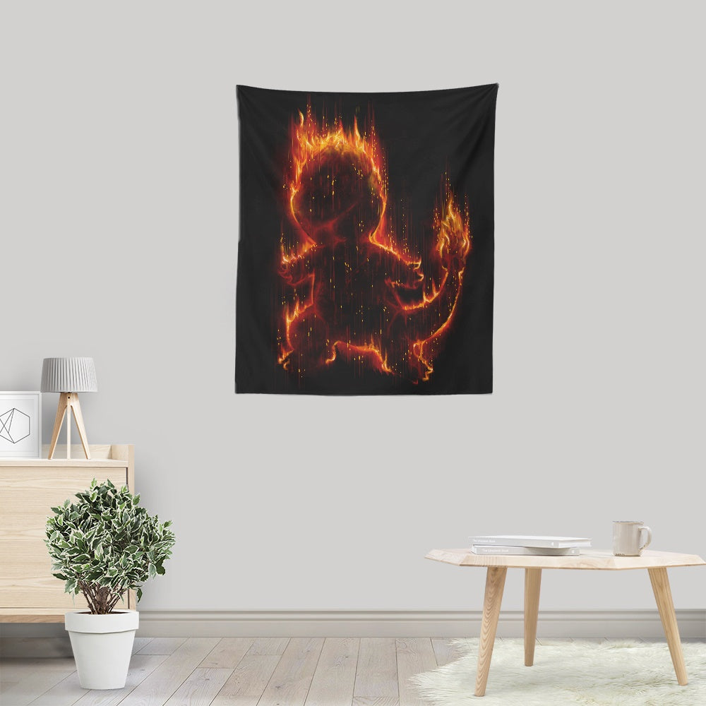 Fire Type - Wall Tapestry