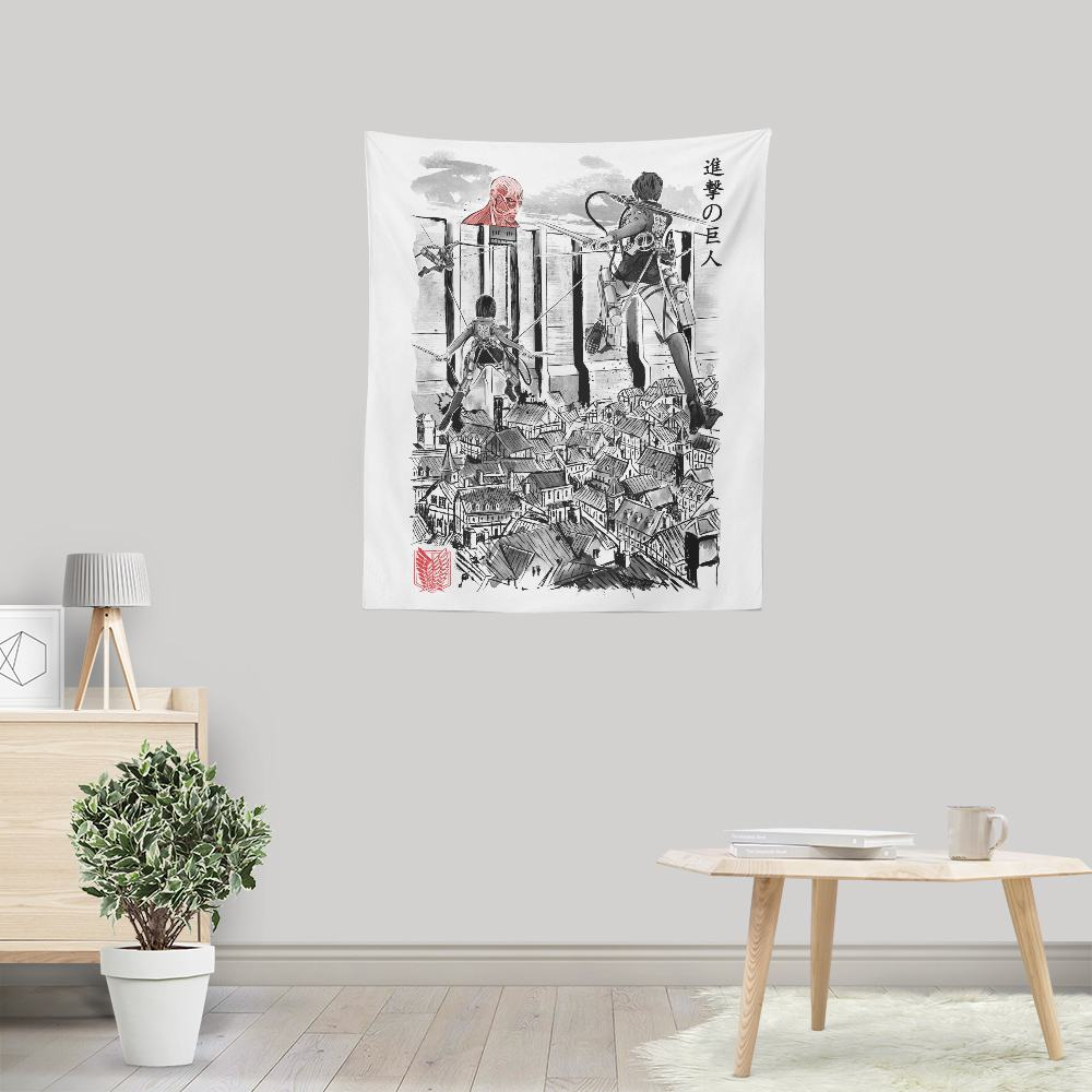 Flying for Humanity - Wall Tapestry
