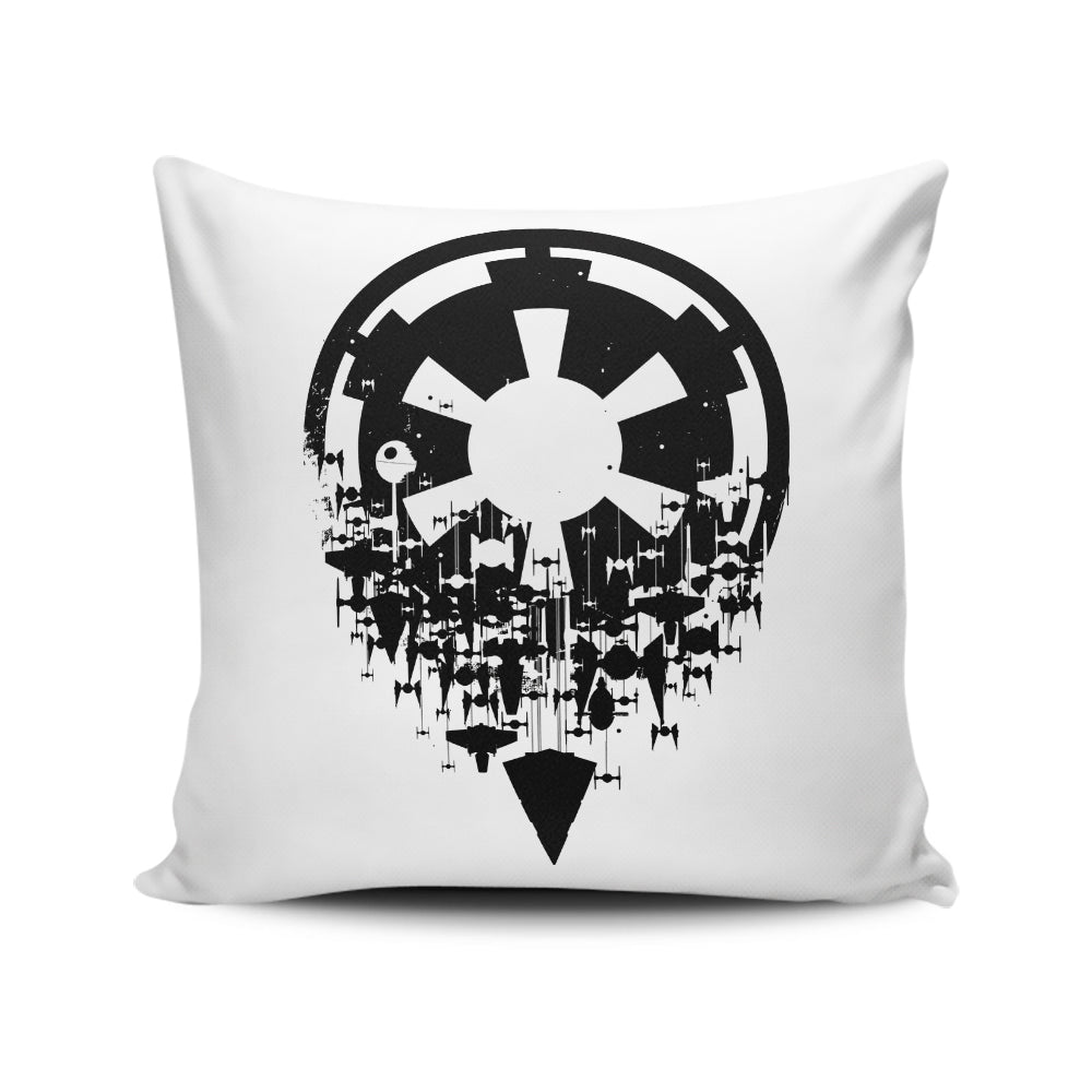 Fractured Empire (Alt) - Throw Pillow