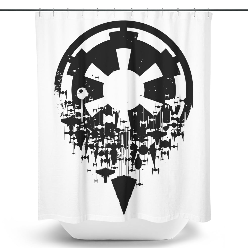 Fractured Empire (Alt) - Shower Curtain