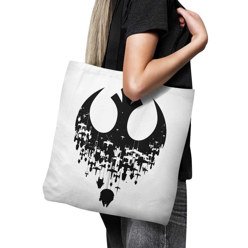 Fractured Rebellion (Alt) - Tote Bag