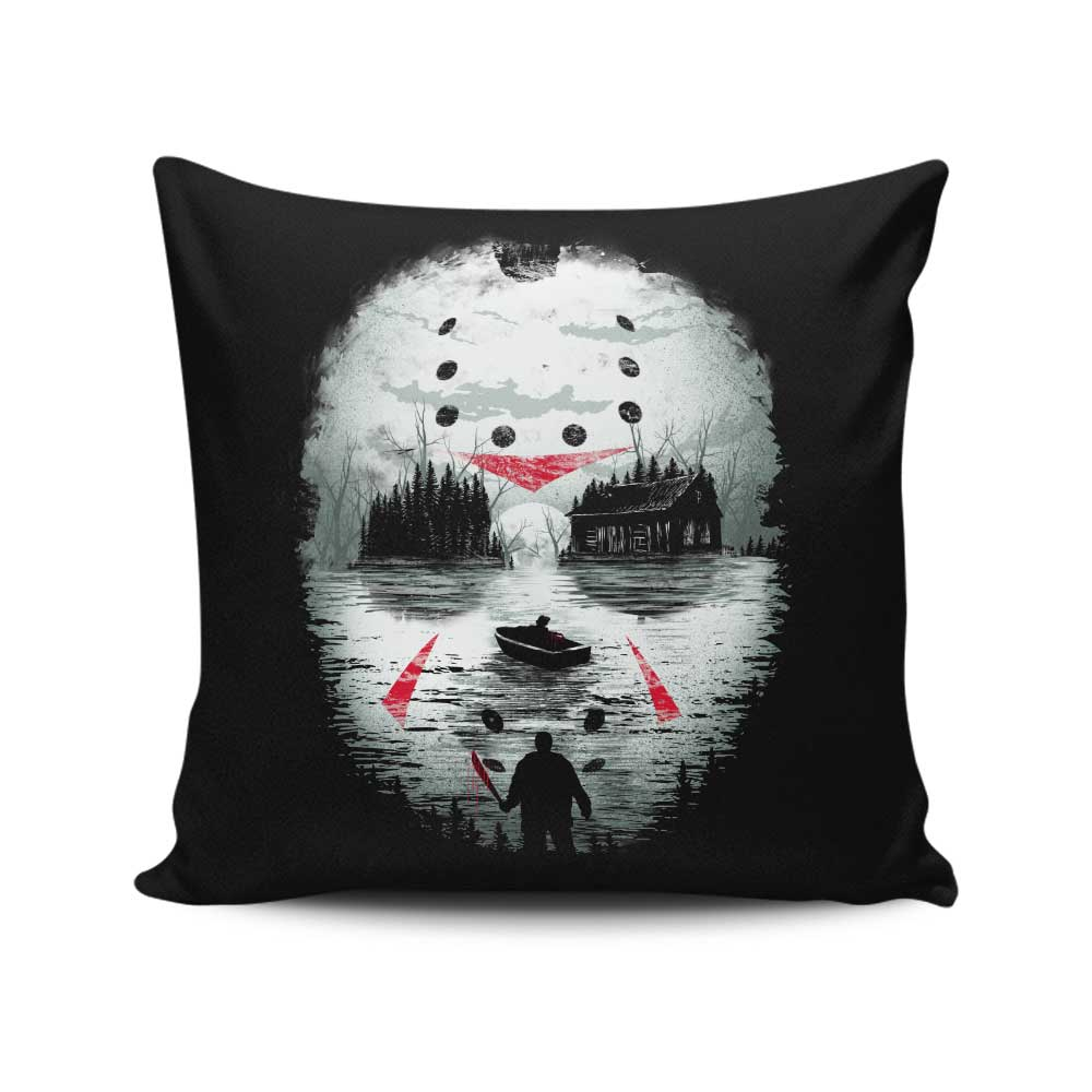 Friday Night Terror - Throw Pillow