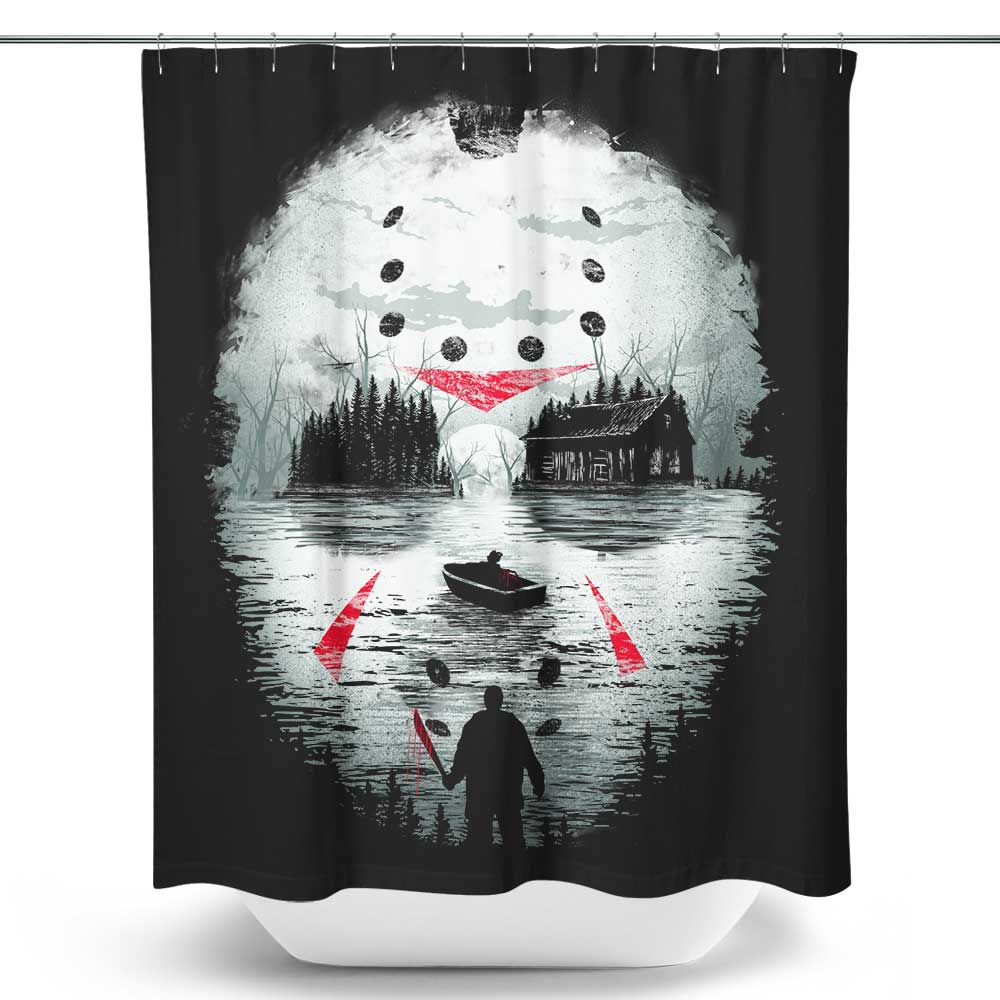 Friday Night Terror - Shower Curtain