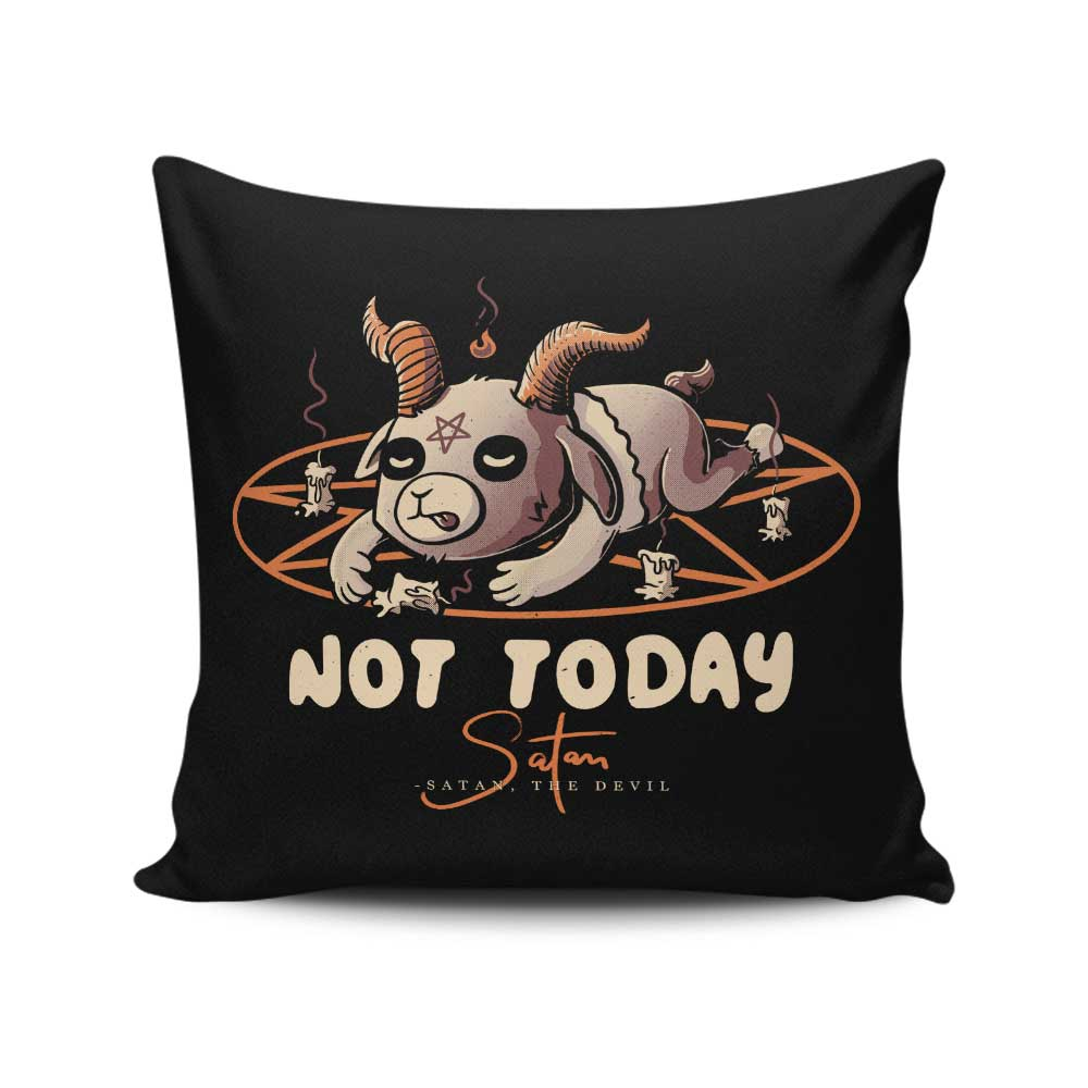 From the Devil - Throw Pillow