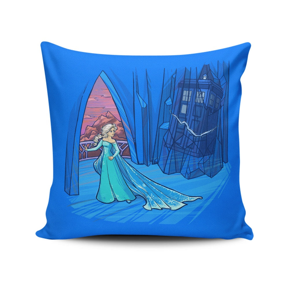 Frozen in Space and Time - Throw Pillow