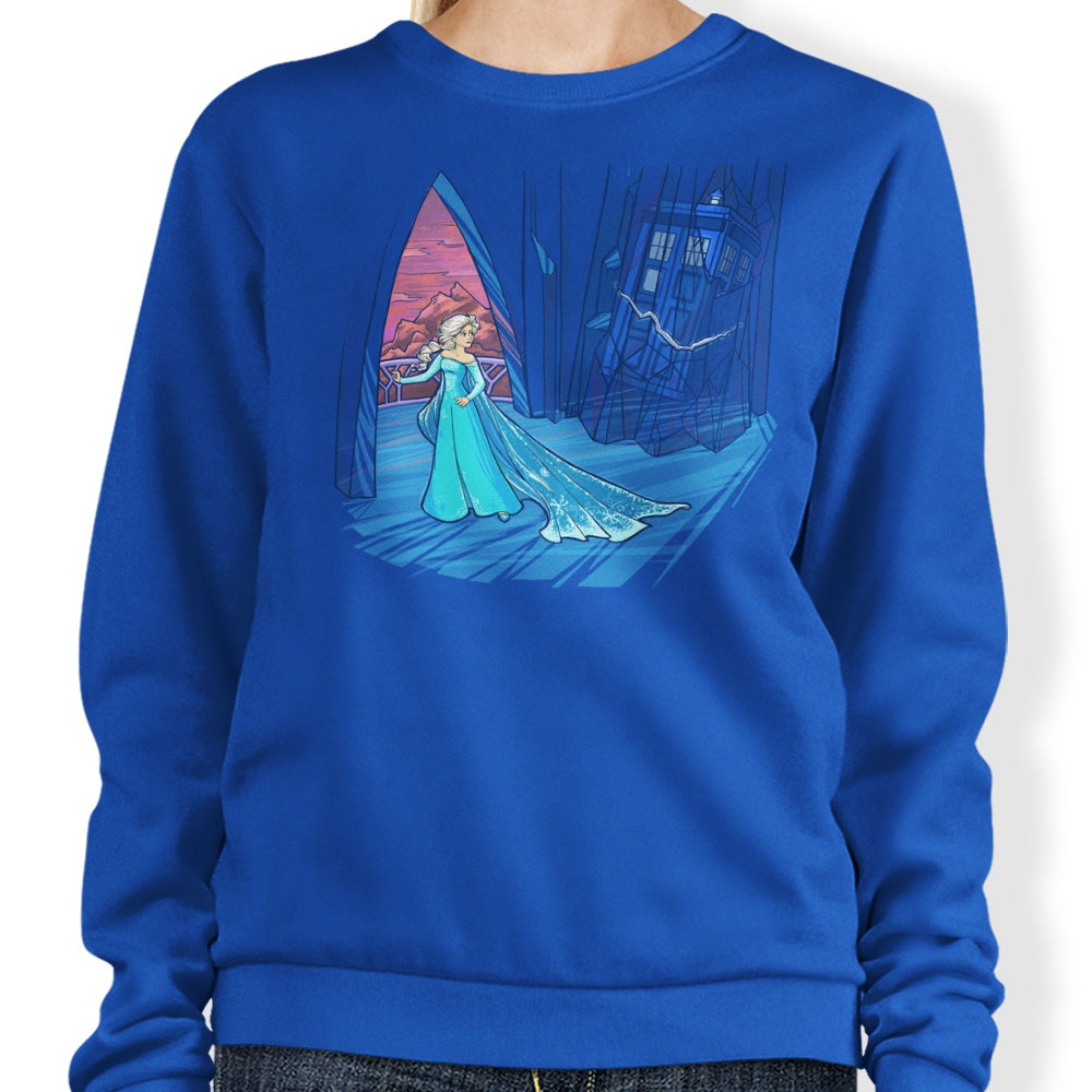 Frozen in Space and Time - Sweatshirt