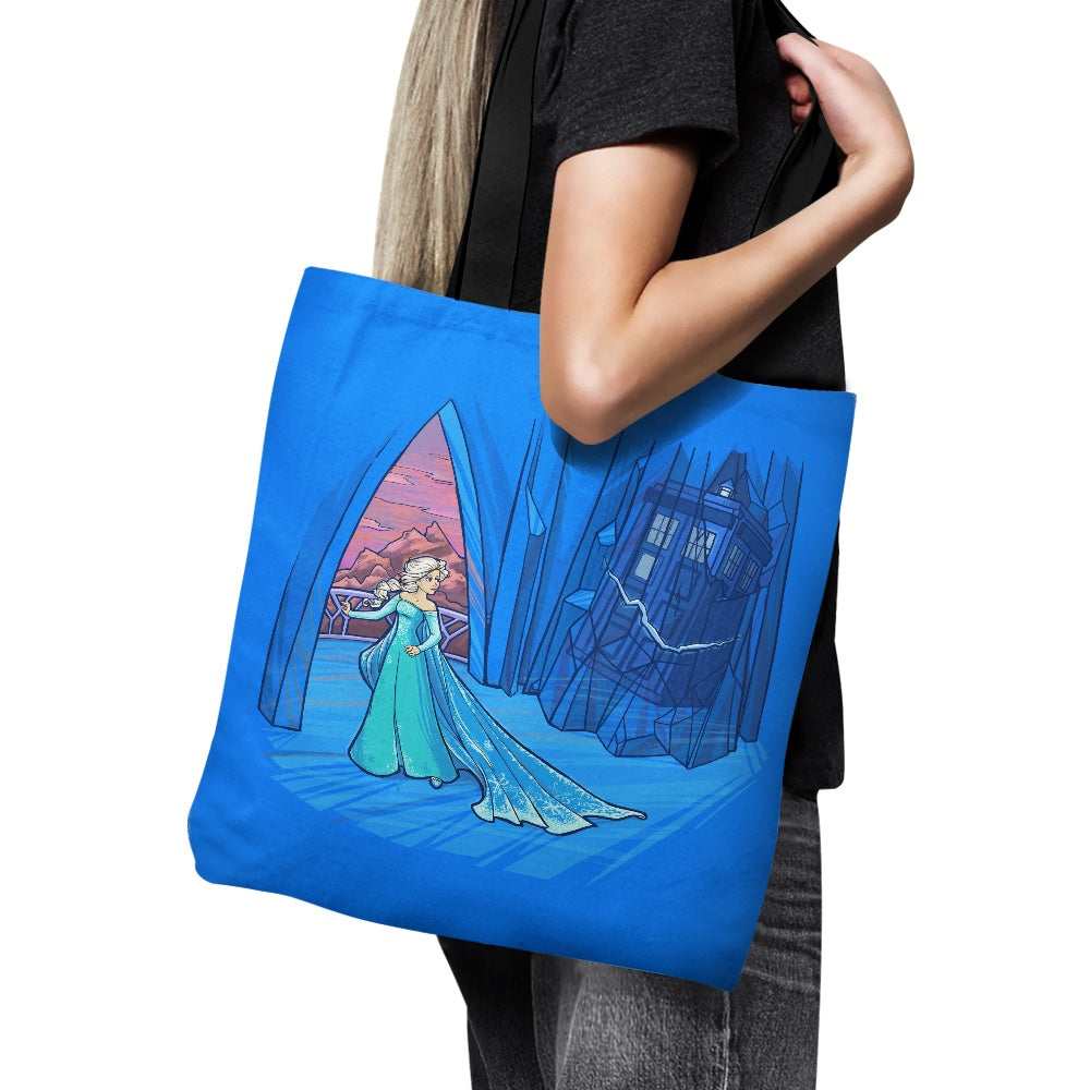 Frozen in Space and Time - Tote Bag