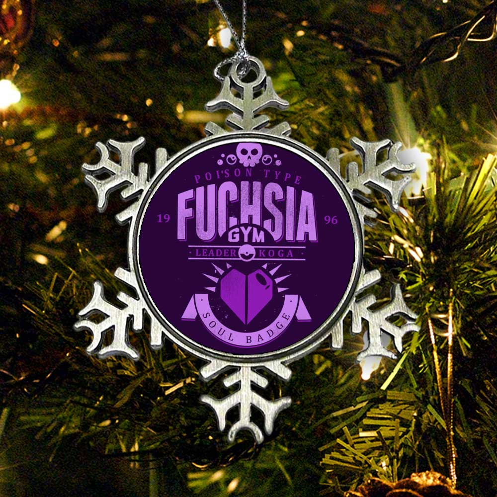 Fuchsia City Gym - Ornament