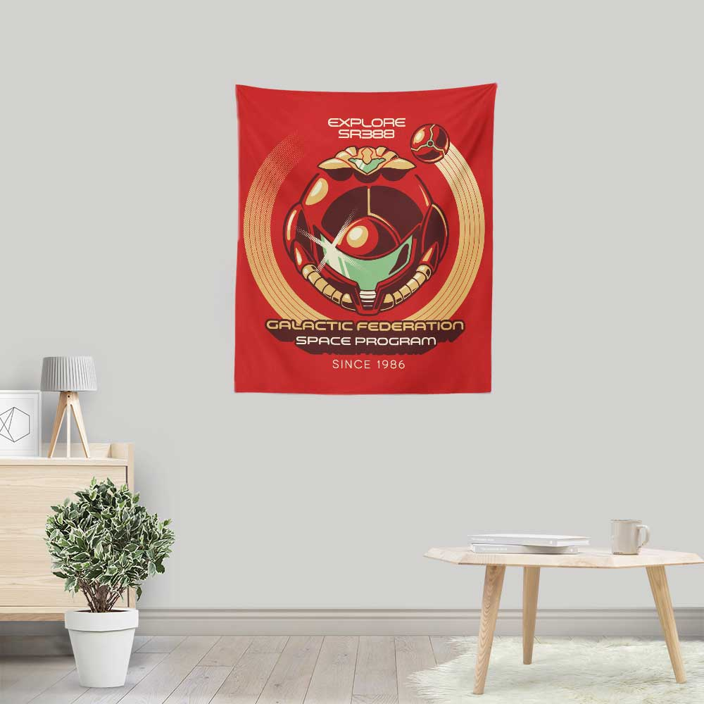 Galactic Federation - Wall Tapestry