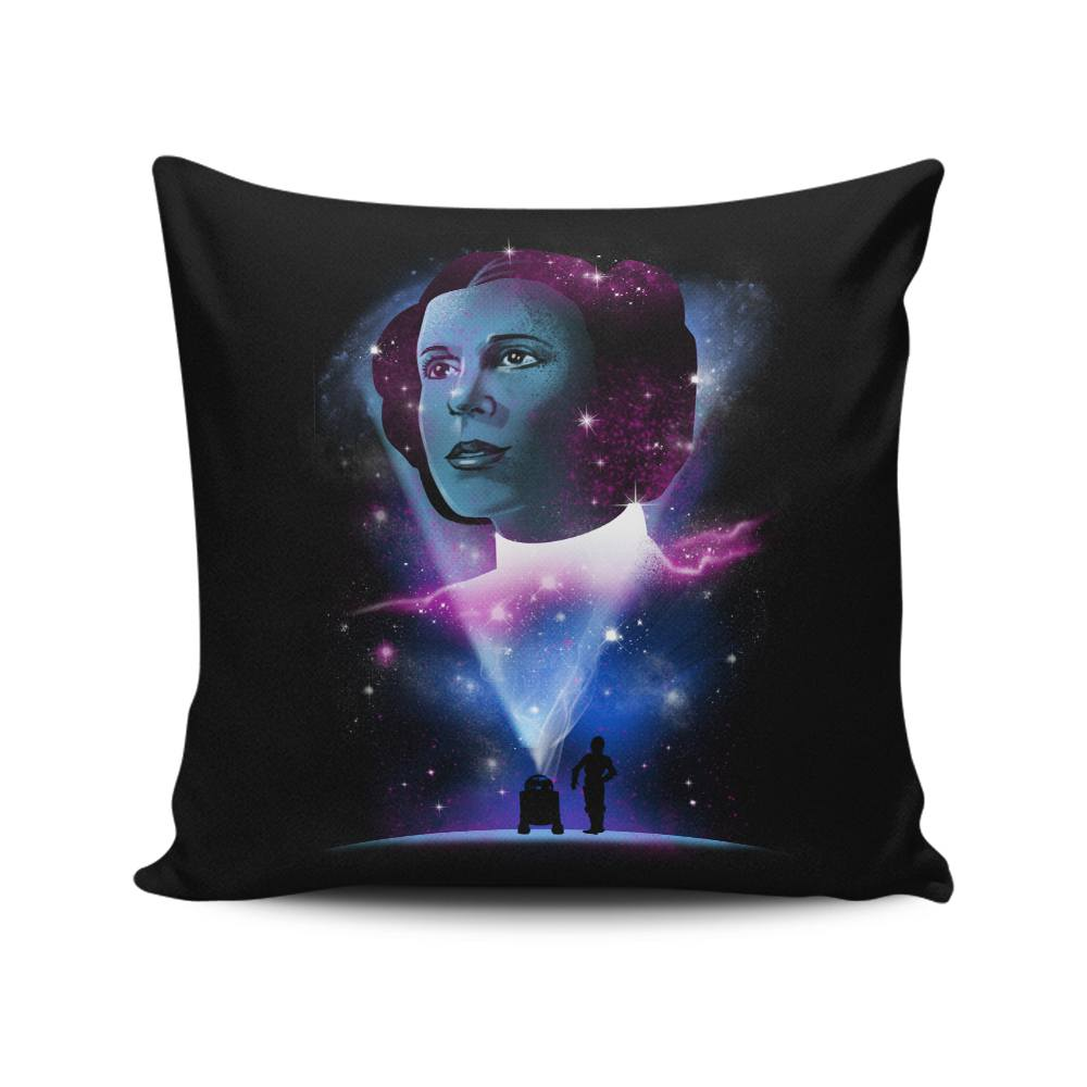 Galactic Princess - Throw Pillow