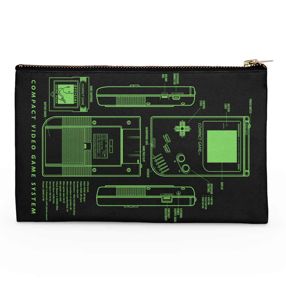 Game Kid - Accessory Pouch