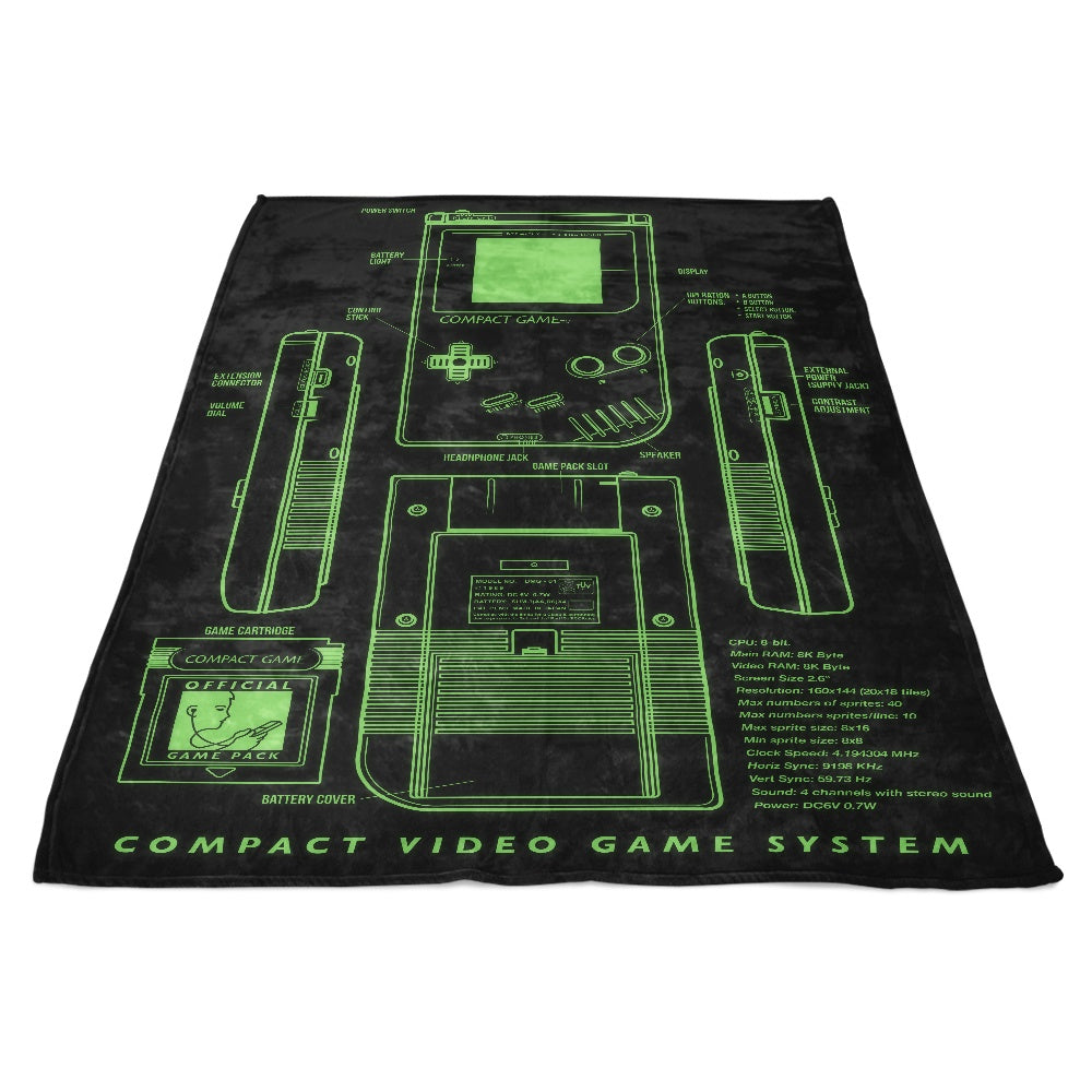 Game Kid - Fleece Blanket