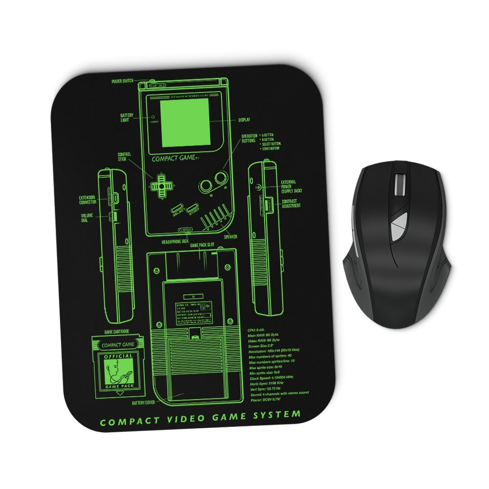 Game Kid - Mousepad