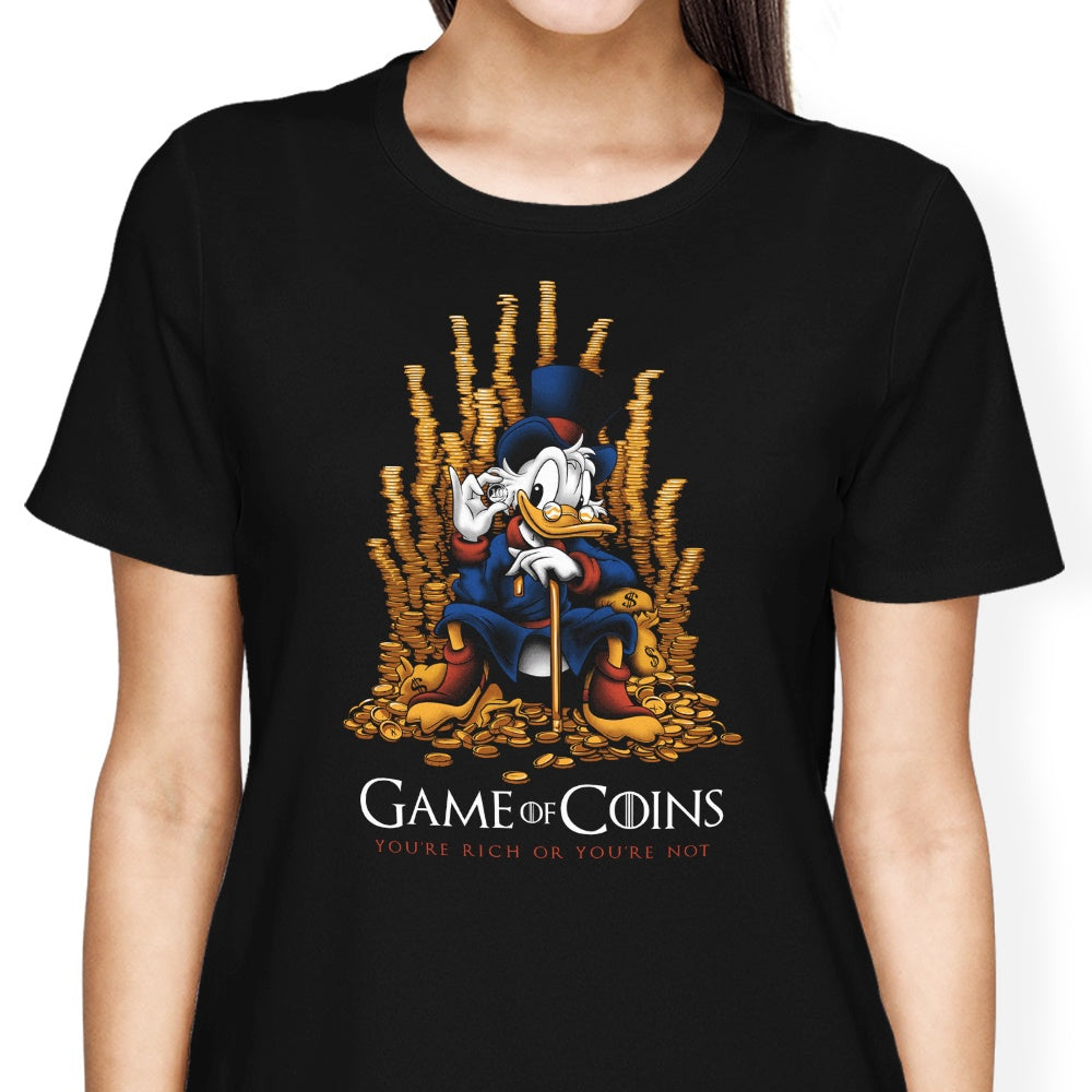 Game of Coins - Women's Apparel