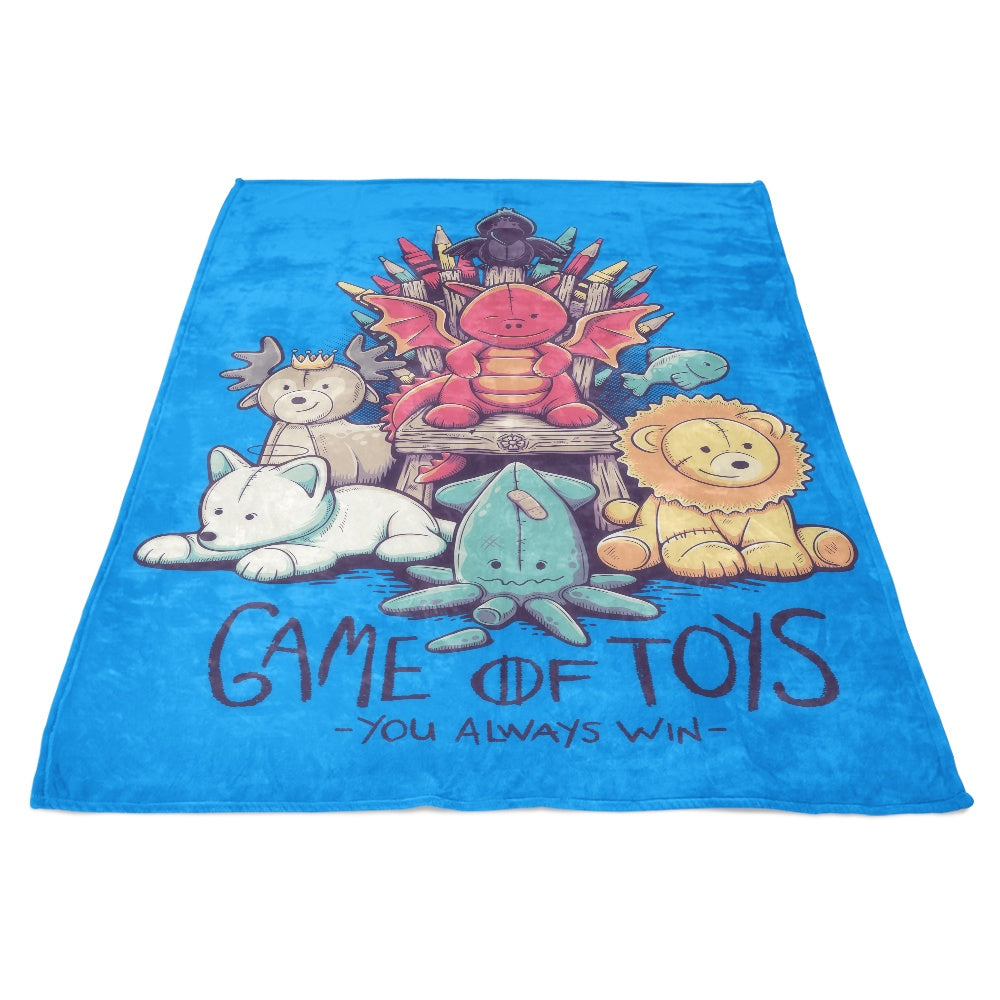 Game of Toys - Fleece Blanket