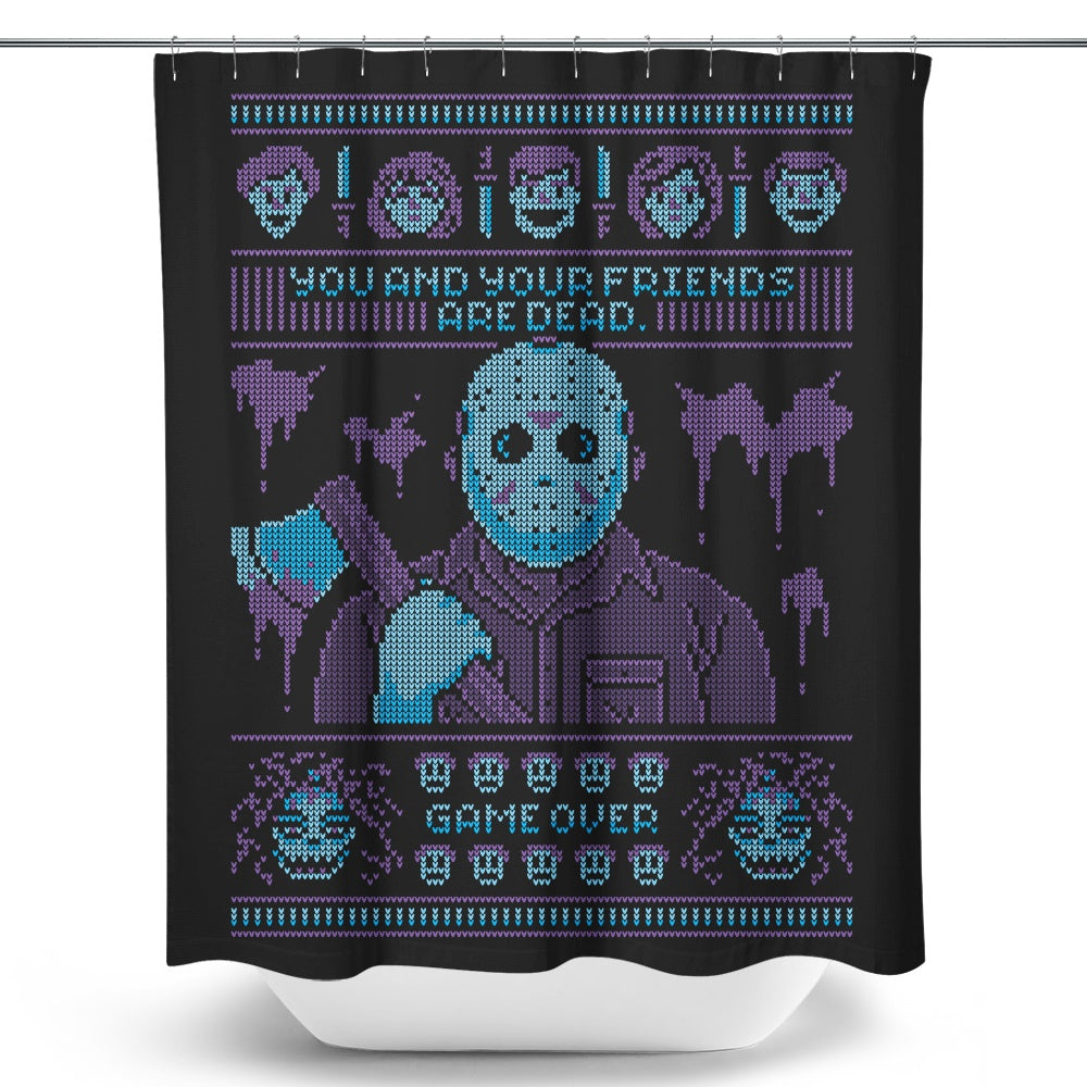 Game Over - Shower Curtain