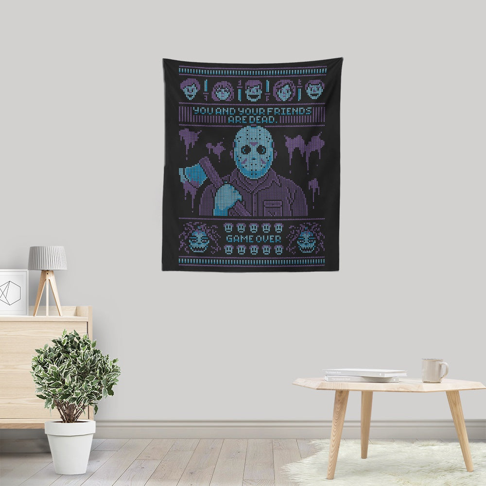 Game Over - Wall Tapestry