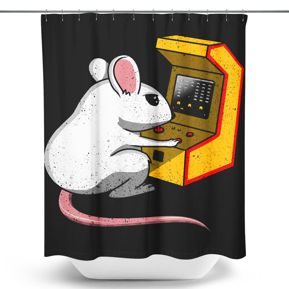 Gaming Mouse - Shower Curtain