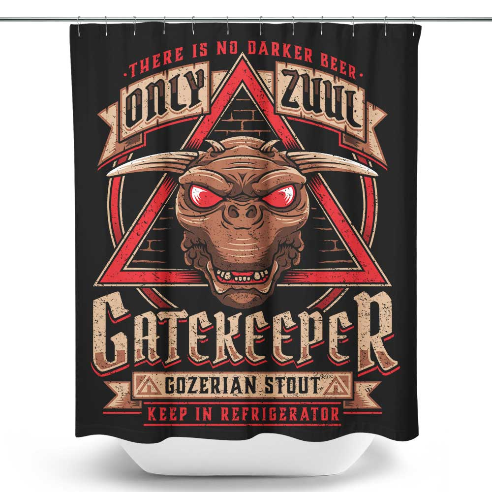 Gatekeeper Gozerian Stout - Shower Curtain