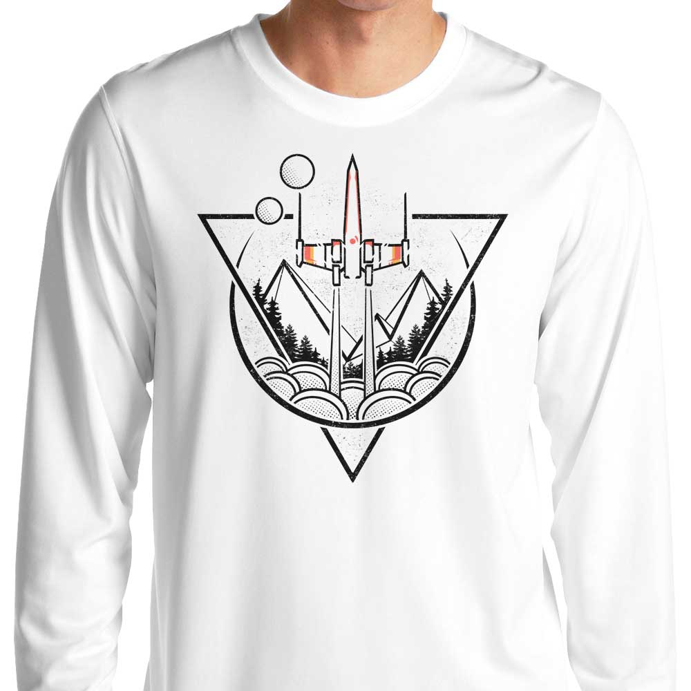 Geometric Wars - Long Sleeve T-Shirt