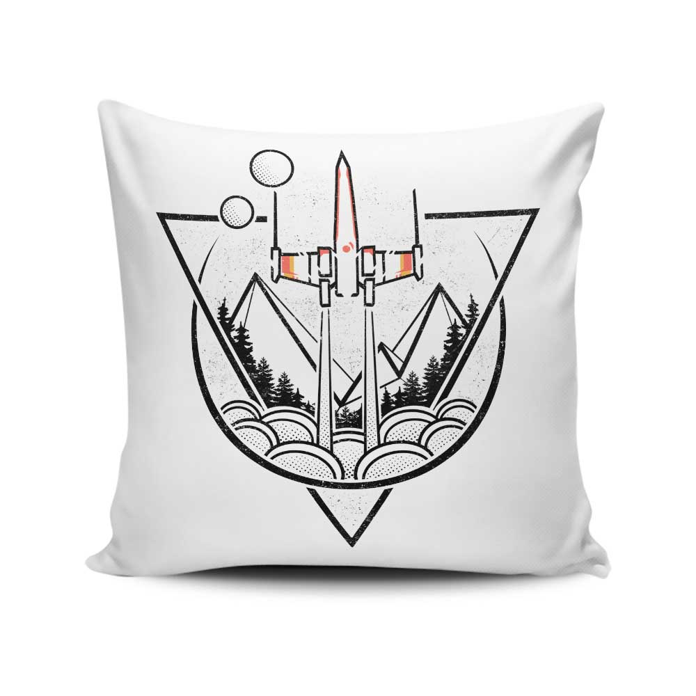 Geometric Wars - Throw Pillow