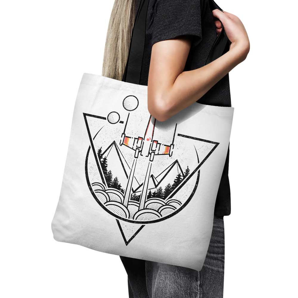 Geometric Wars - Tote Bag