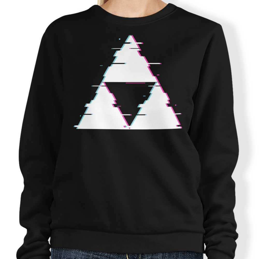 Glitch Triforce - Sweatshirt