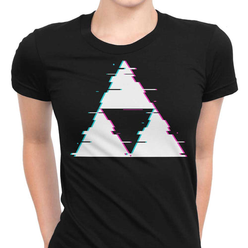 Glitch Triforce - Women's Apparel