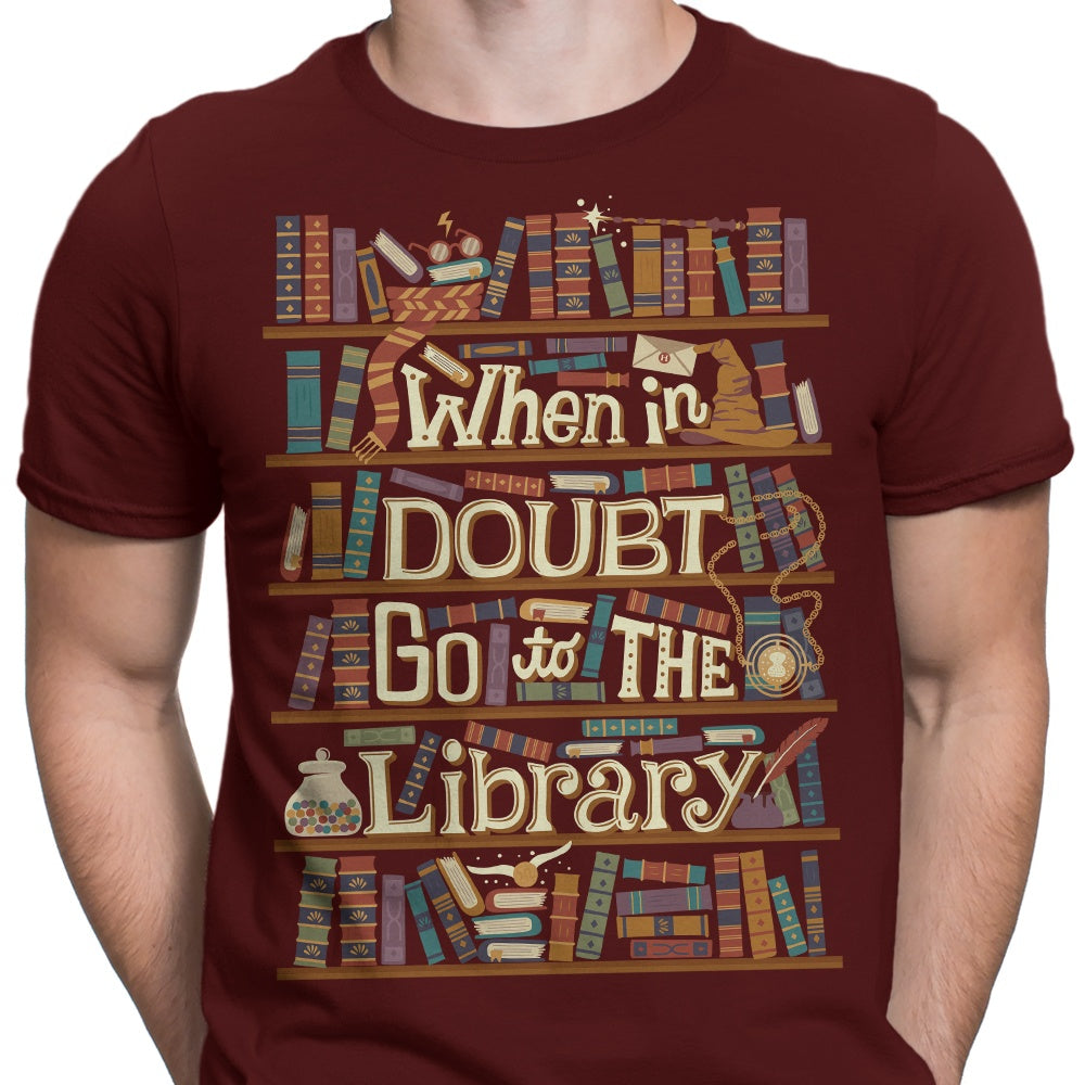 Go to the Library - Men's Apparel