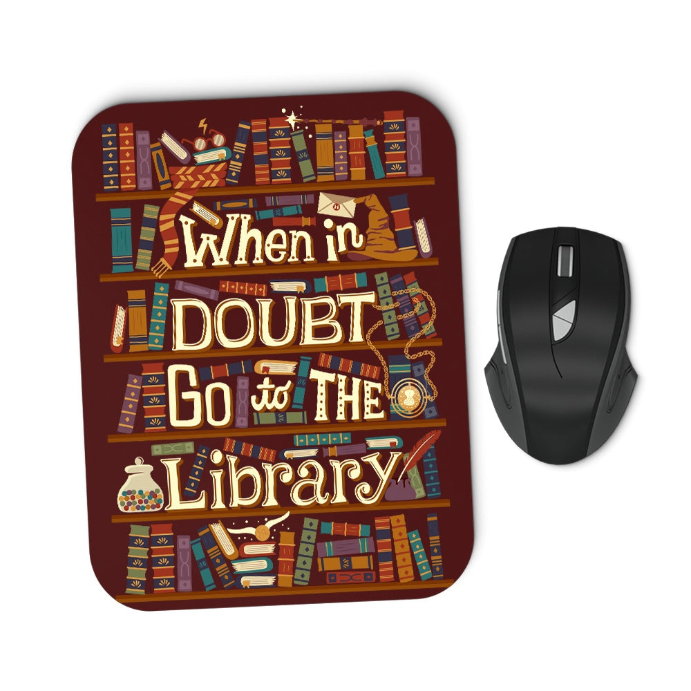 Go to the Library - Mousepad