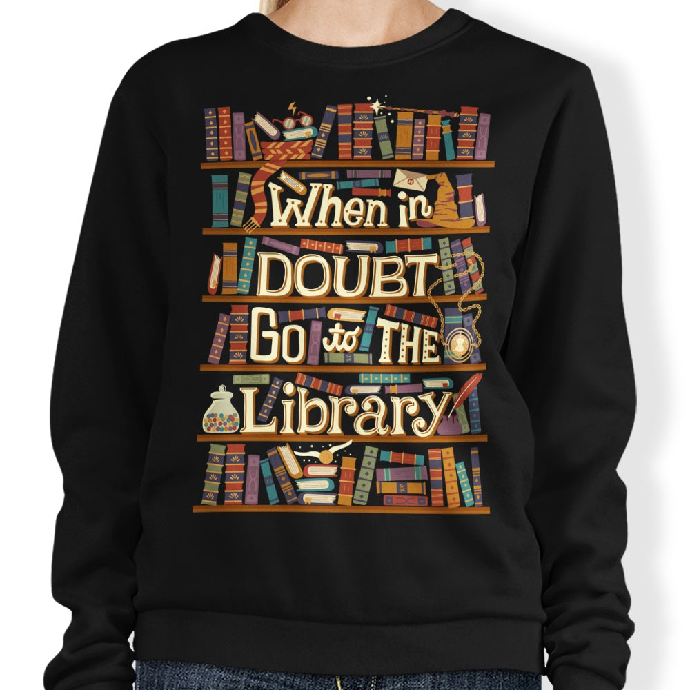 Go to the Library - Sweatshirt