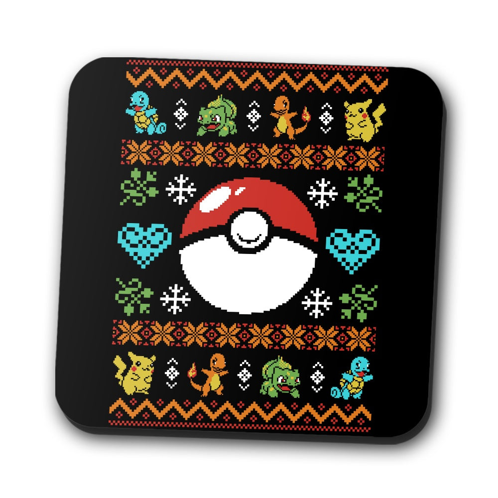 Gotta Stitch 'em All - Coasters
