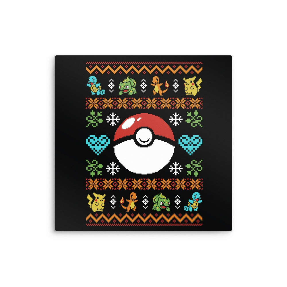 Gotta Stitch 'em All - Metal Print