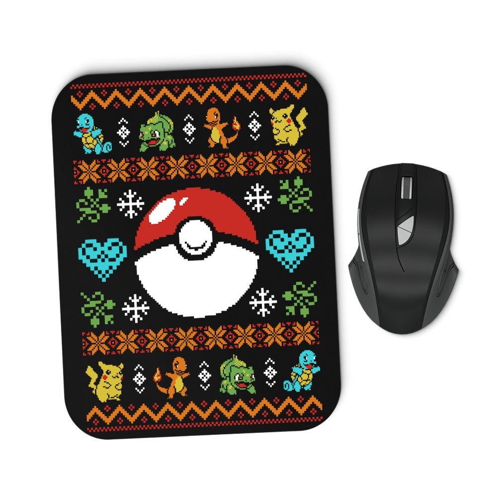 Gotta Stitch 'em All - Mousepad