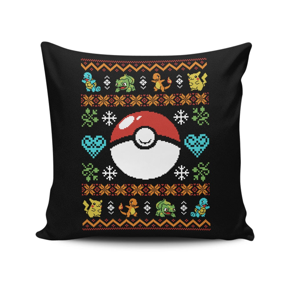 Gotta Stitch 'em All - Throw Pillow