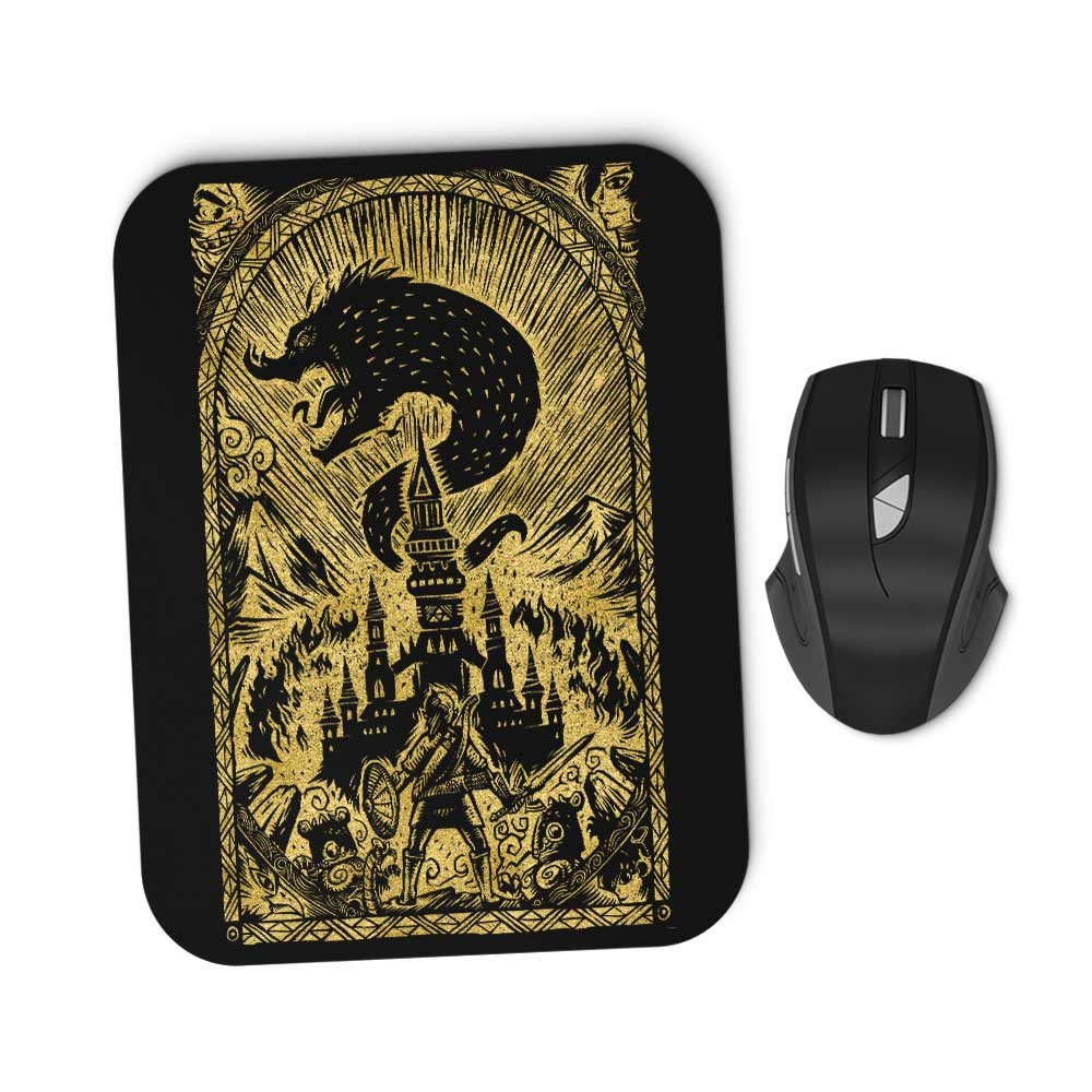 Great Cataclysm (Gold) - Mousepad