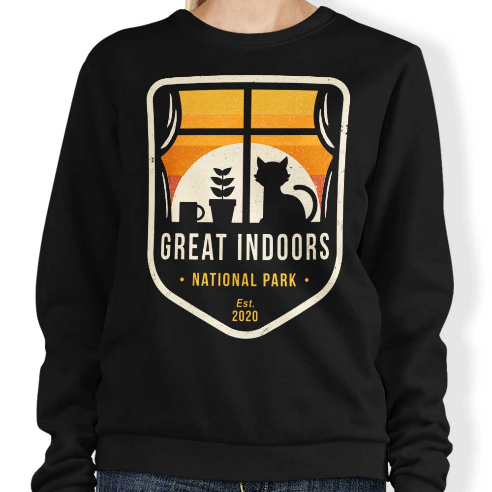 Great Indoors National Park - Sweatshirt