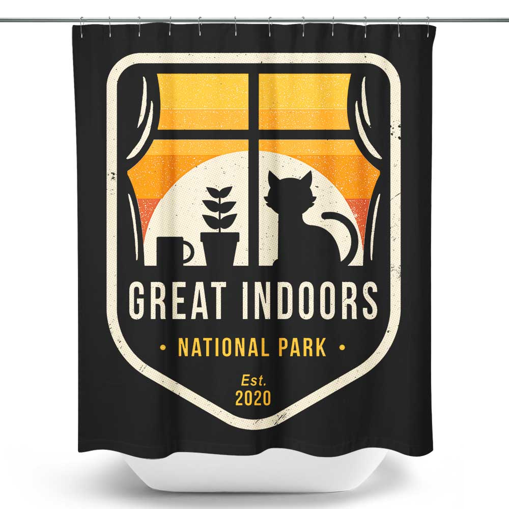 Great Indoors National Park - Shower Curtain