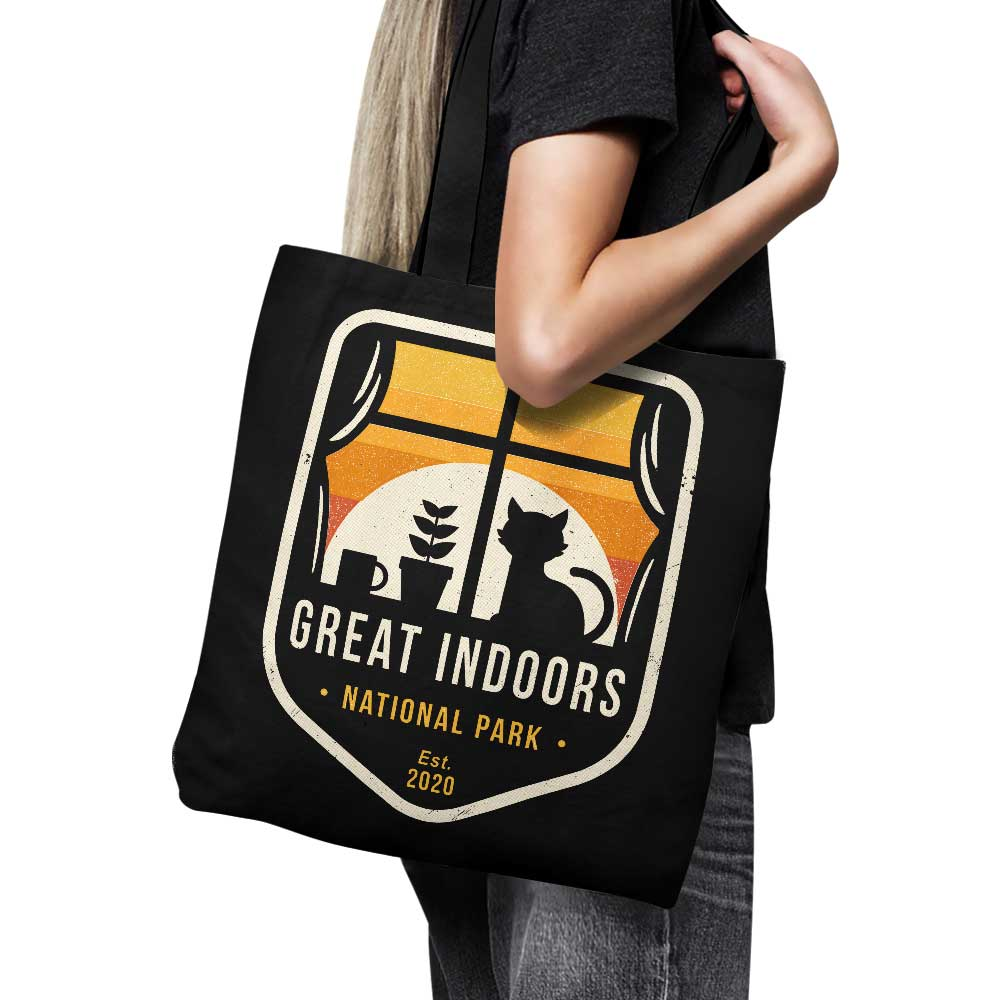 Great Indoors National Park - Tote Bag