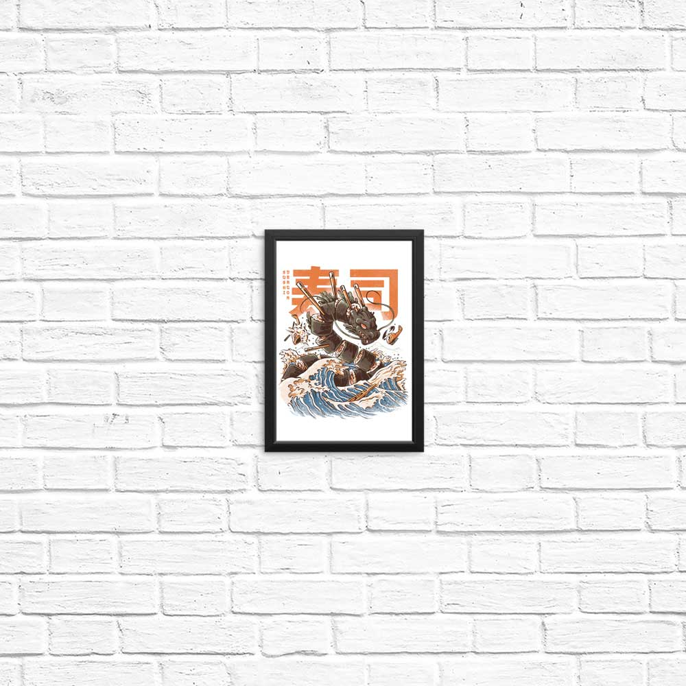 Great Sushi Dragon - Posters & Prints