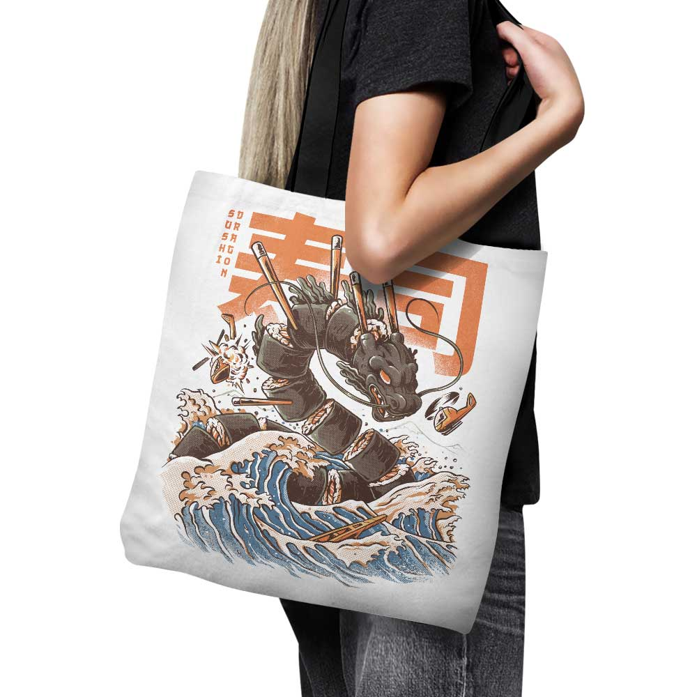 Great Sushi Dragon - Tote Bag