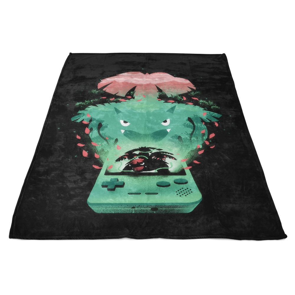 Green Pocket Gaming - Fleece Blanket