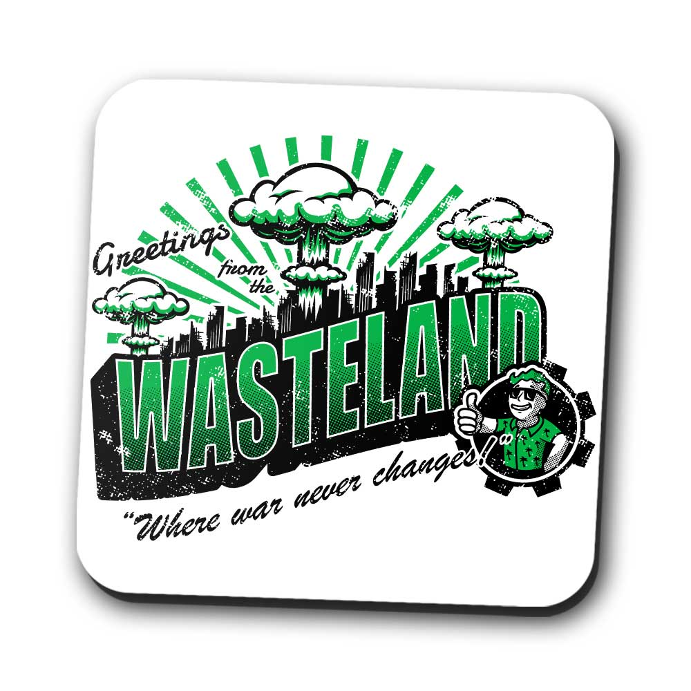 Greetings from the Wasteland - Coasters