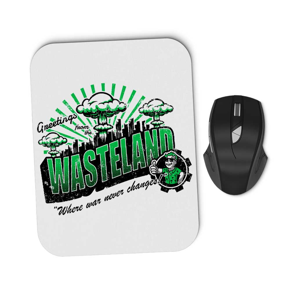 Greetings from the Wasteland - Mousepad