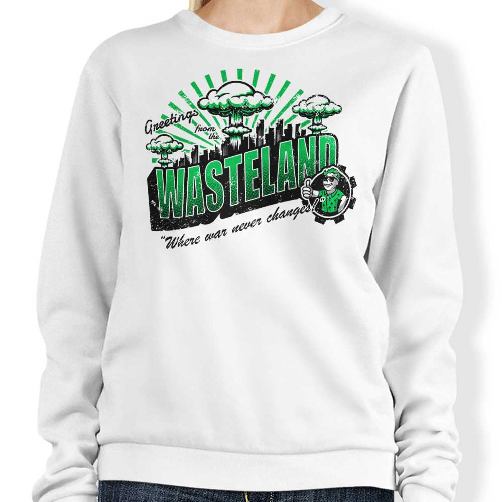 Greetings from the Wasteland - Sweatshirt