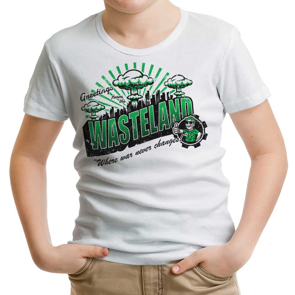 Greetings from the Wasteland - Youth Apparel