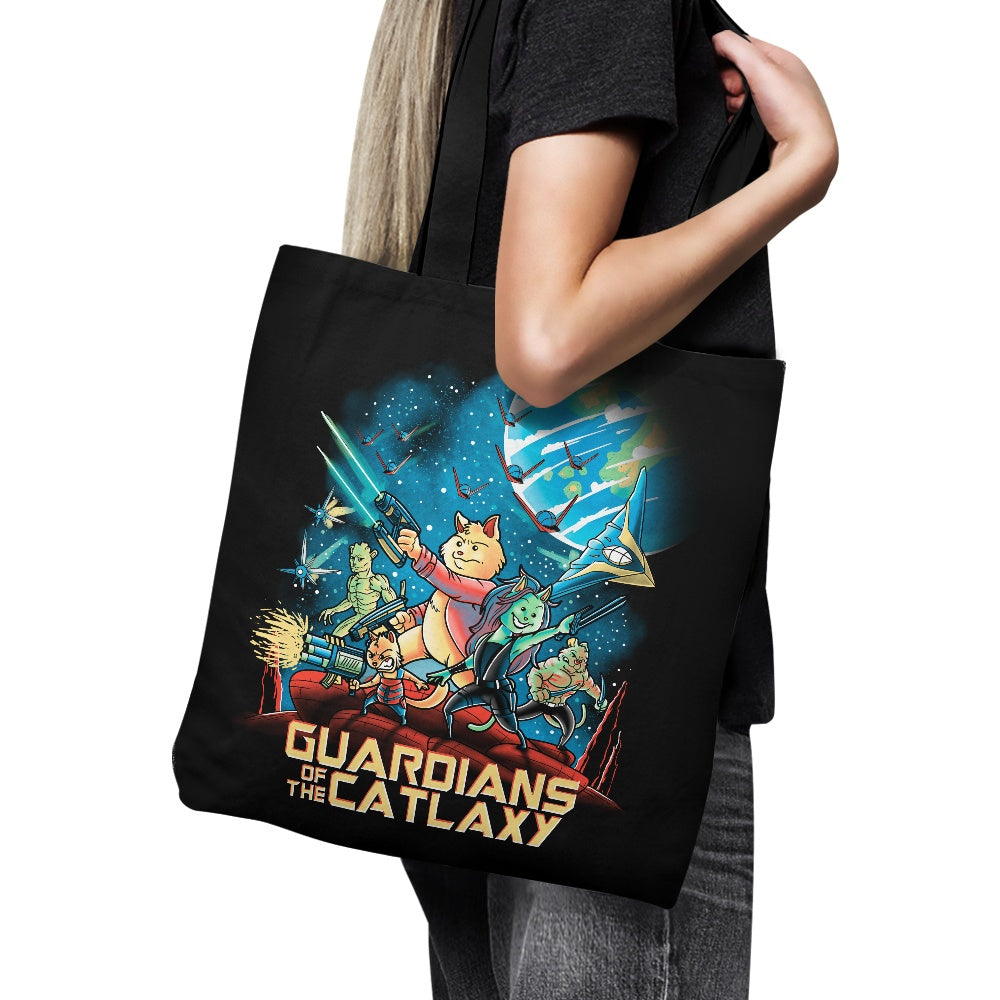 Guardians of the Catlaxy - Tote Bag