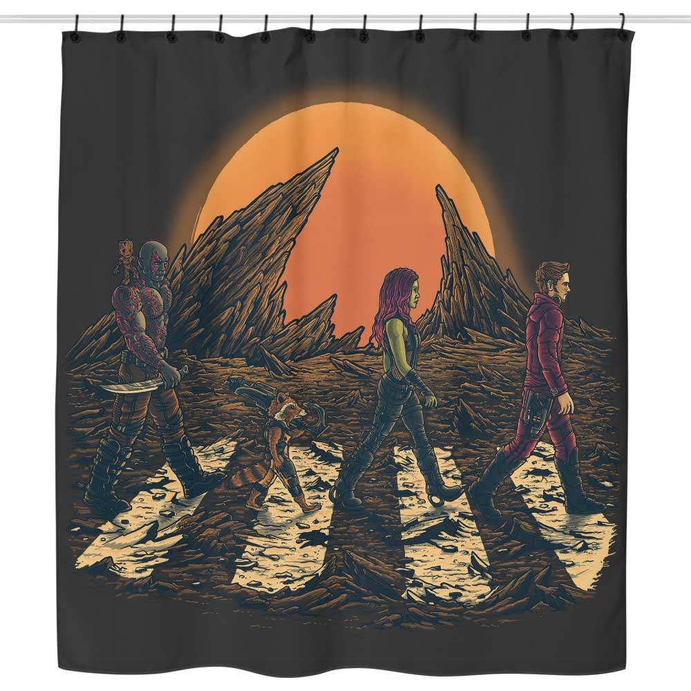 Guardians Road - Shower Curtain