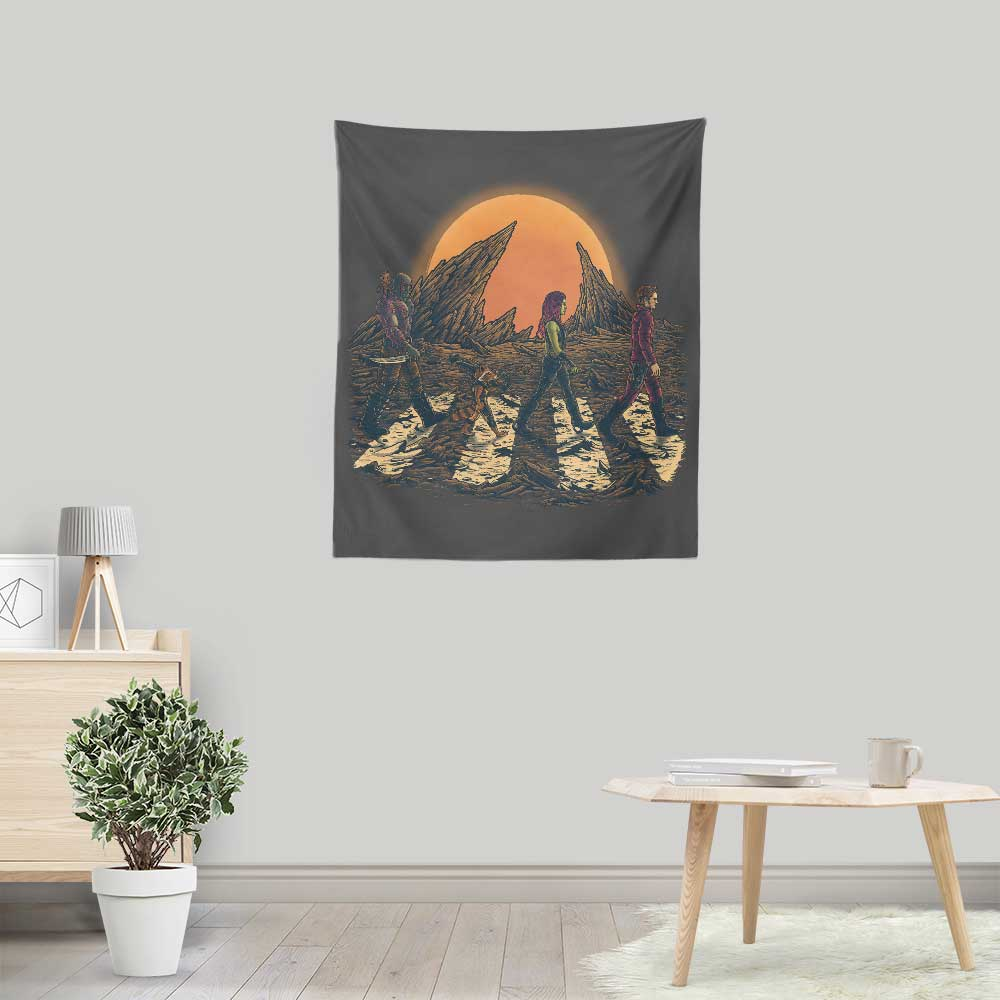 Guardians Road - Wall Tapestry